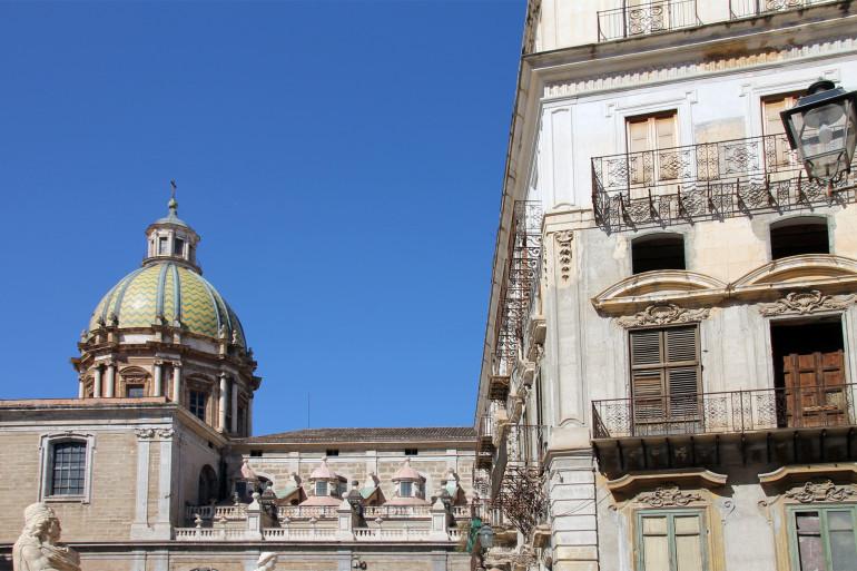 travellers Insight Reiseblog Palermo Piazza Pretoria