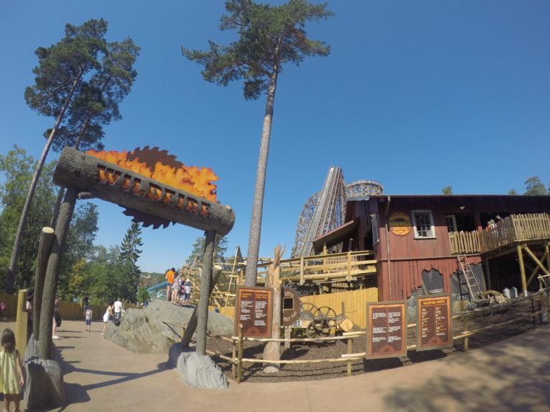 Travellers Insight Reiseblog Norrköping Wildfire Rollercoster Park