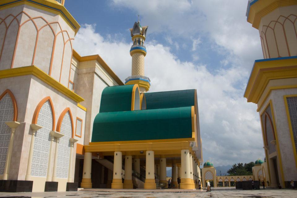 Travellers Insight Reiseblog Lombok Moschee Mataram