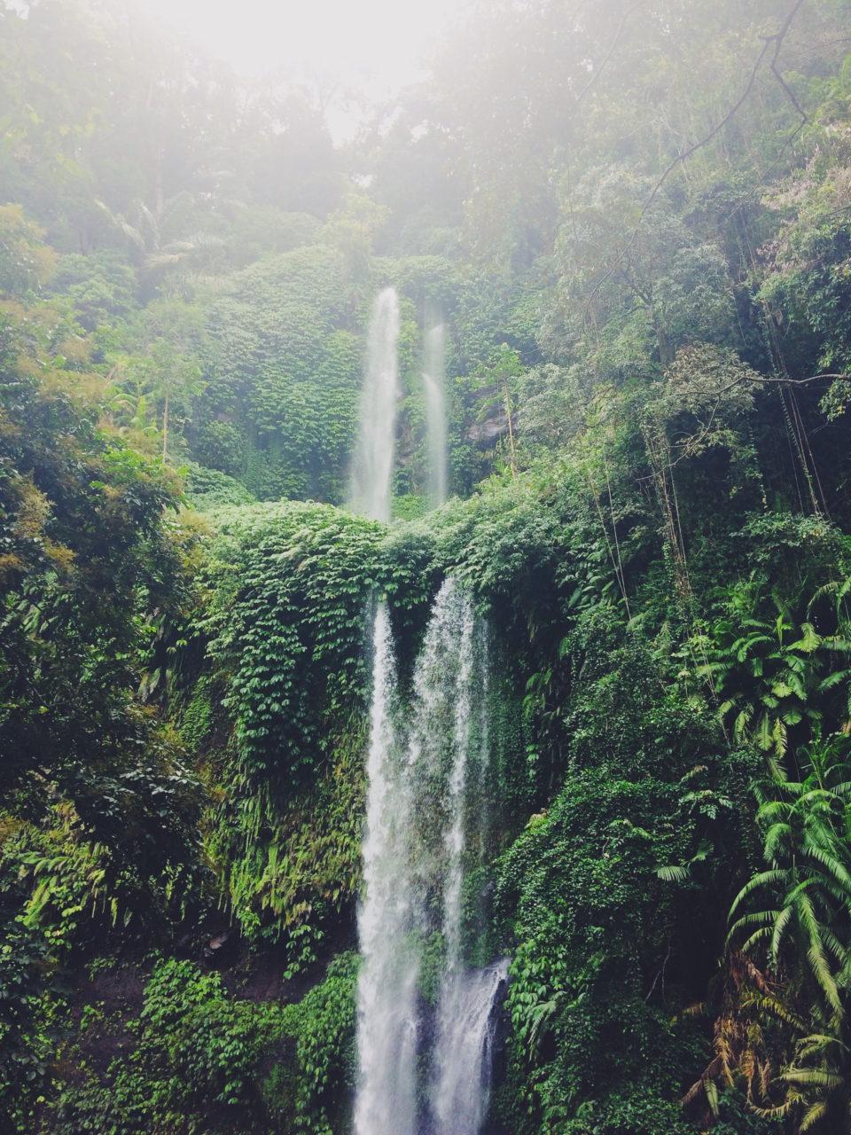 Travellers Insight Reiseblog Lombok Wasserfall Sendang Gile