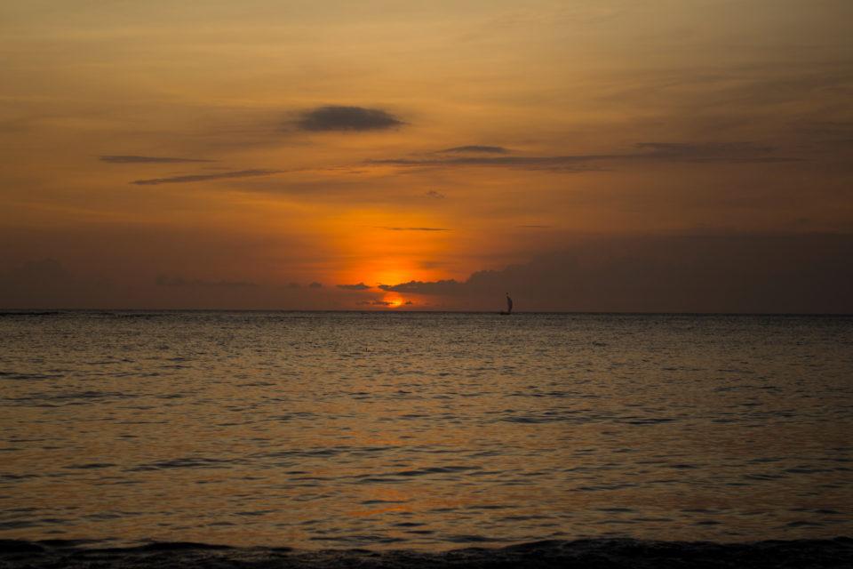 Travellers Insight Reiseblog Lombok Sonnenuntergang