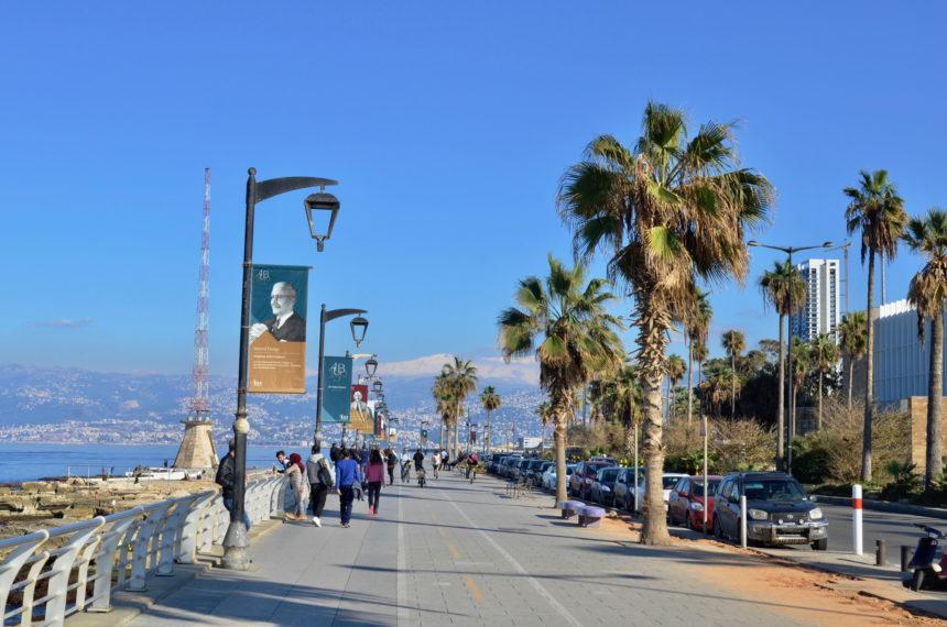 Travellers Insight Reiseblog Beirut Pigeon Corniche