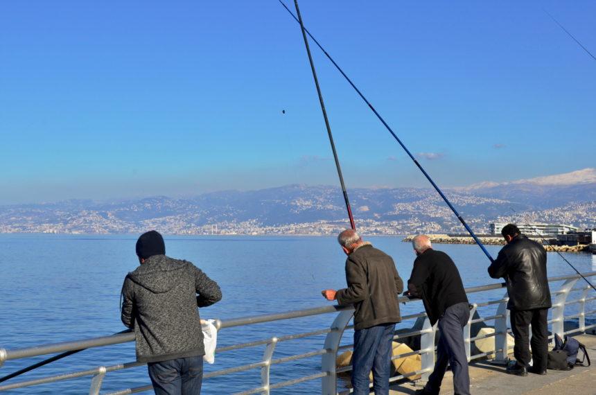 Travellers Insight Reiseblog Beirut Angler