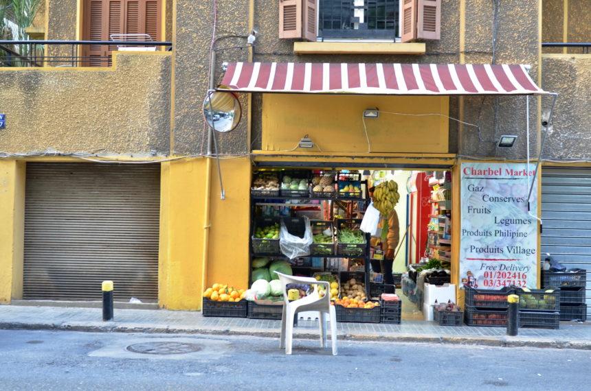 Travellers Insight Reiseblog Beirut Straßenstand