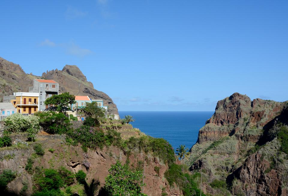 Kapverden Kapverdische Inseln Santo Antao Fonteinhas