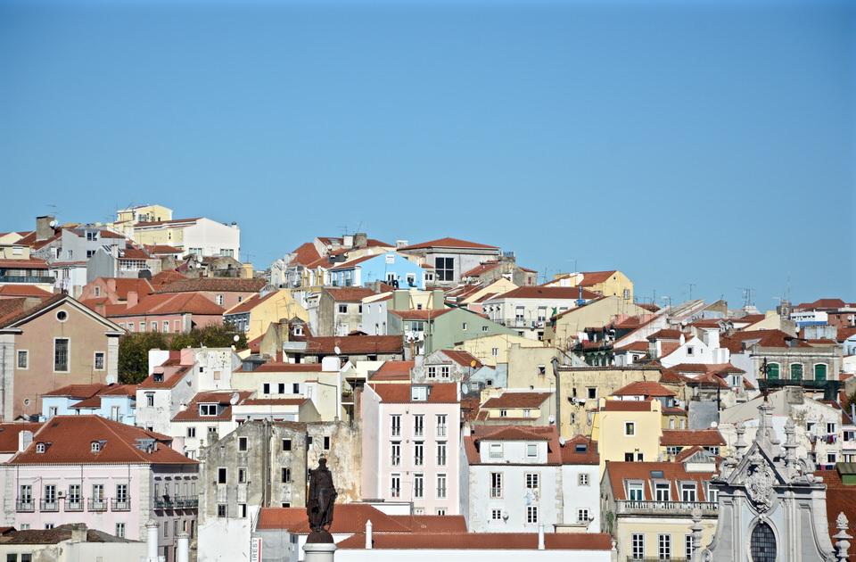 Städtereise Lissabon Panorama Igreja do Carmo