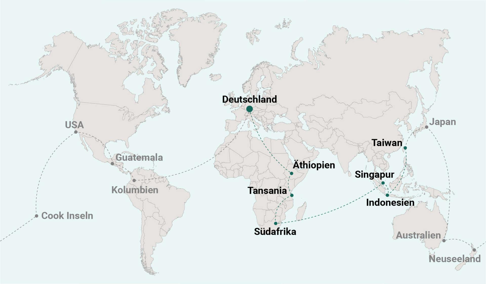Weltreise Blog Route 07 Taiwan
