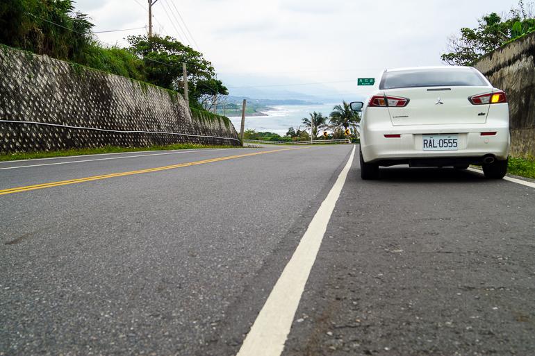 Travellers Insight Reiseblog Taiwan Roadtrip Mitsubishi Lancer