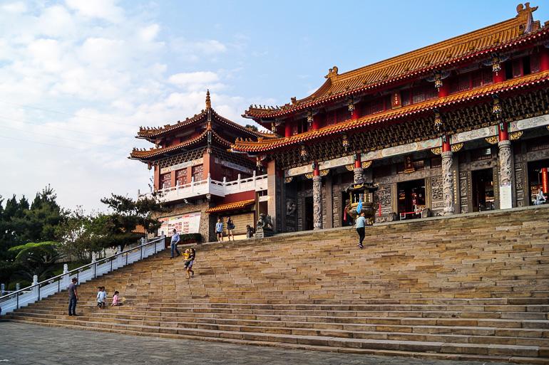 Travellers Insight Reiseblog Taiwan Sun Moon Lake Wenwu Tempel