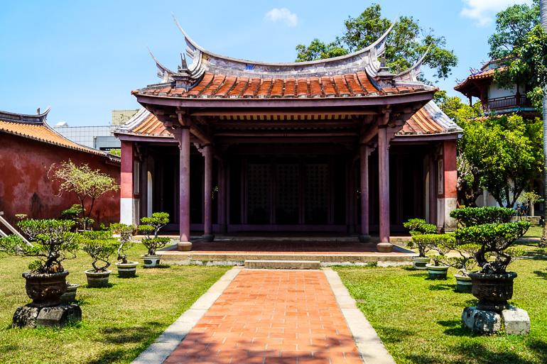 Travellers Insight Reiseblog Taiwan Sun Moon Lake Tainan Konfuzius Tempel