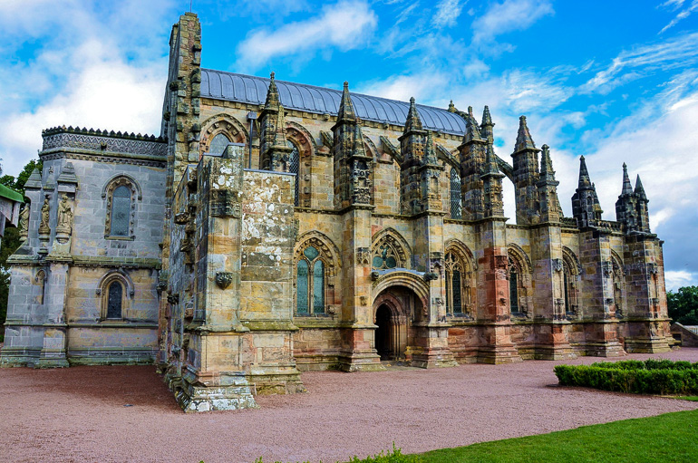 Travellers Insight Reiseblog Gotteshäuser Rosslyn Kapelle Schottland