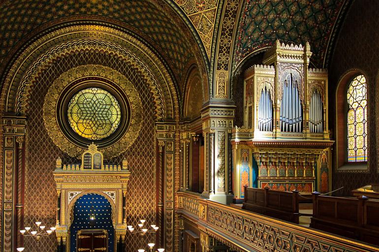 Travellers Insight Reiseblog Gotteshäuser Spanische Synagoge Prag
