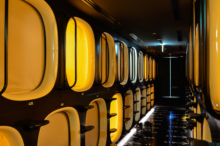 Travellers Insight Reiseblog Tokio Highlights Kapselhotel