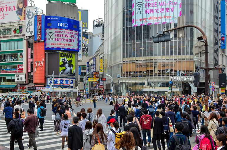 Travellers Insight Reiseblog Tokio Highlights Shibuya