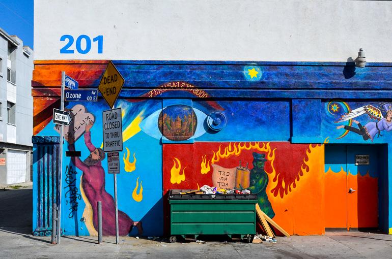 Travellers Insight Reiseblog Santa Monica Venice Beach Graffiti