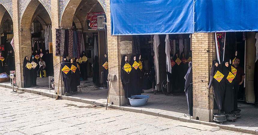 Travellers Insight Reiseblog Iran Eisenbahn Tschador