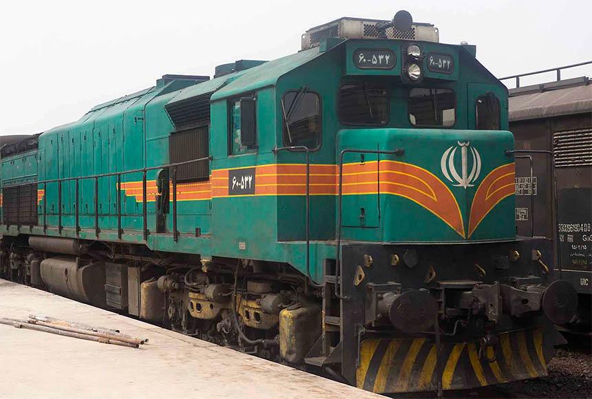 Travellers Insight Reiseblog Iran Eisenbahn Diesellok