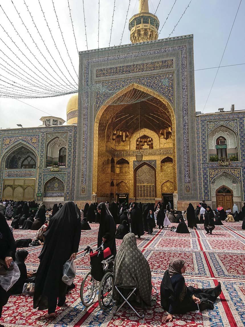 Travellers Insight Reiseblog Iran Eisenbahn Mashad