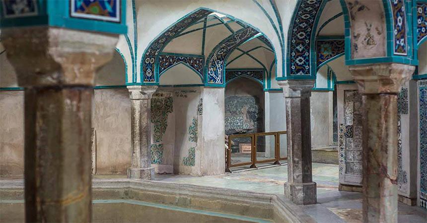 Travellers Insight Reiseblog Iran Eisenbahn Kerman Hamam