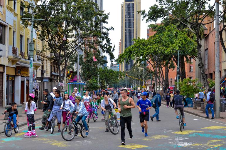 Travellers Insight Reiseblog Kolumbien Bogotá Ciclovía