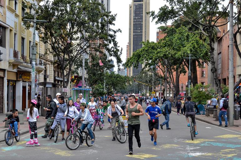 Travellers Insight Reiseblog Kolumbien Sehenswürdigkeiten Ciclovía Bogota