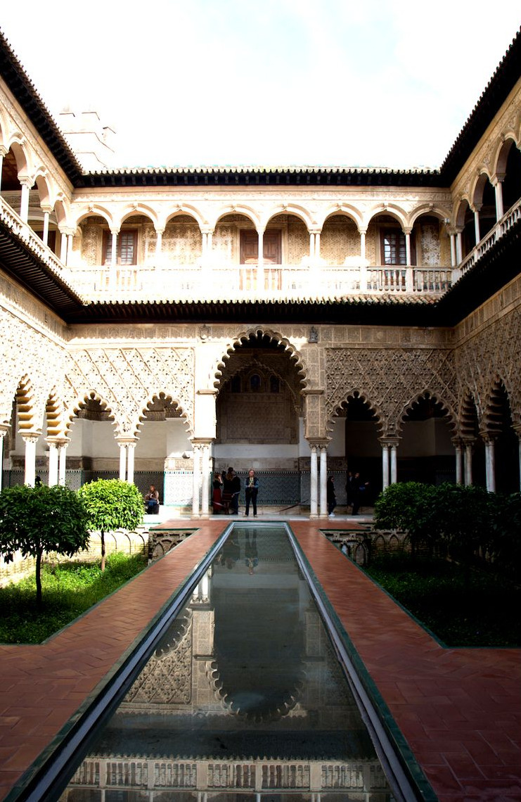Travellers Insight Reiseblog Sevilla Alcazar Patio