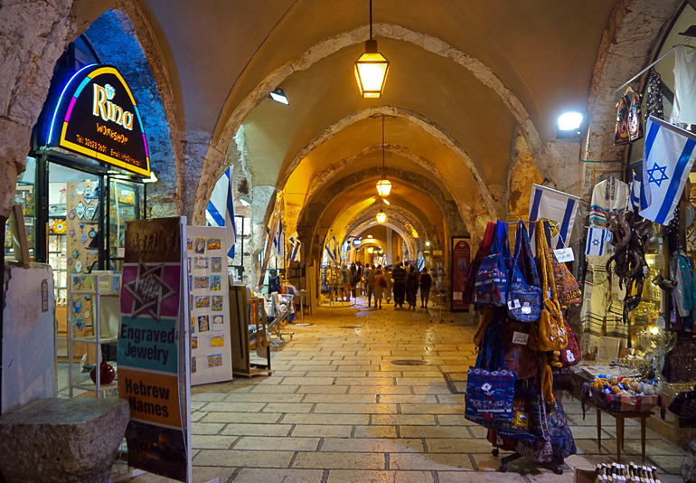 Travellers Insight Reiseblog Jerusalem Bazaar