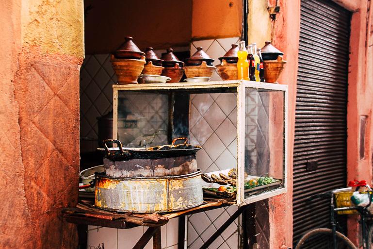 Travellers Insight Reiseblog Marokko Roadtrip Garküche Marrakesch