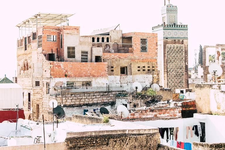 Travellers Insight Reiseblog Marokko Roadtrip Fez Dächer