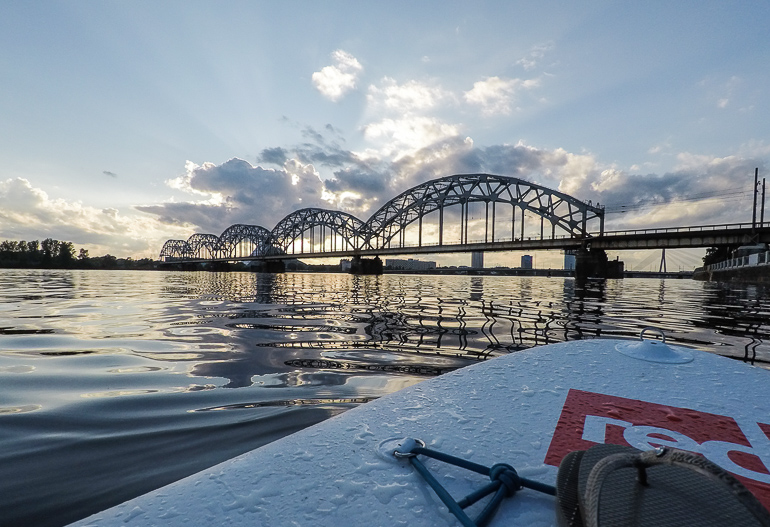 Travellers Insight Reiseblog Riga Daugava SUP