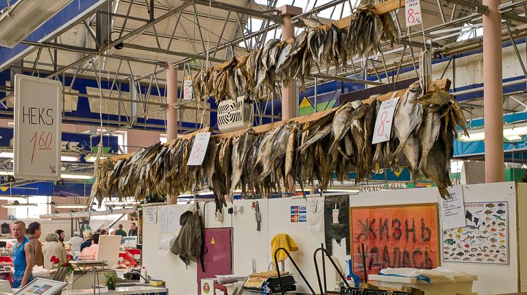 Travellers Insight Reiseblog Riga Zentralmarkt Hering