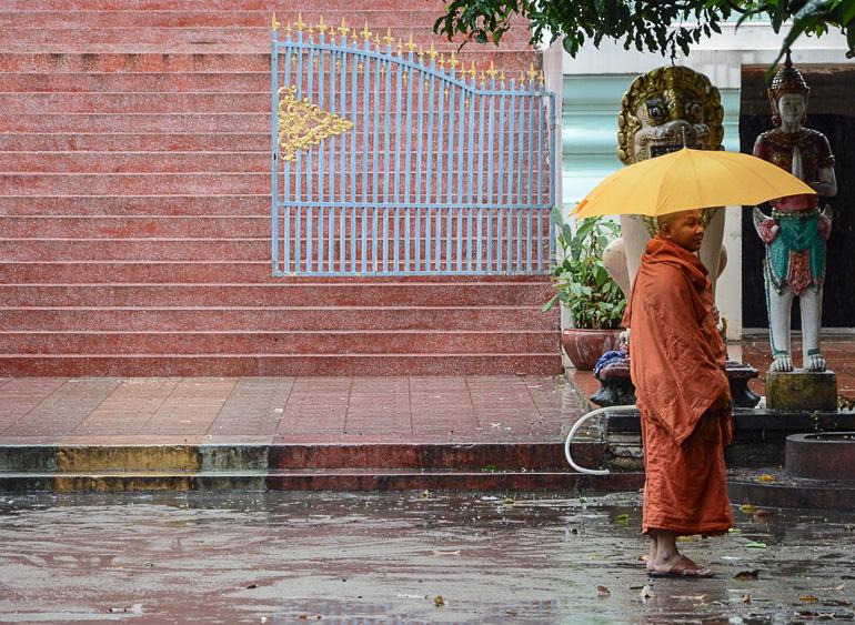 Travellers Insight Reiseblog Kambodscha-Rundreise Phnom Penh Regen