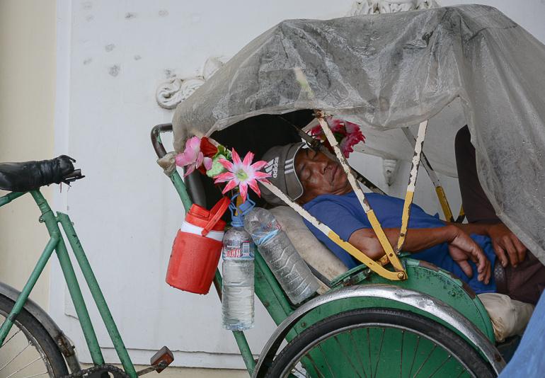 Travellers Insight Reiseblog Kambodscha-Rundreise Cyclo