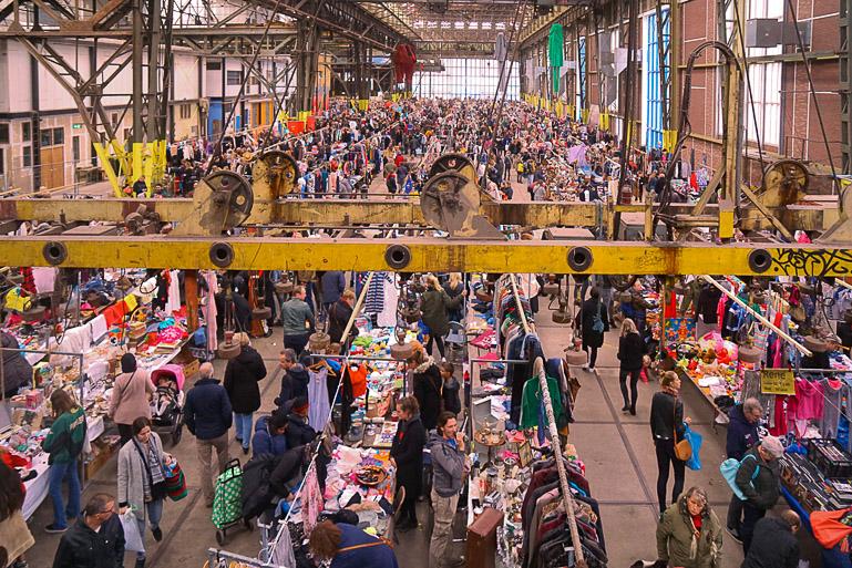 Travellers Insight Reiseblog Amsterdam Sehenswürdigkeiten Ij-Hallen Flohmarkt