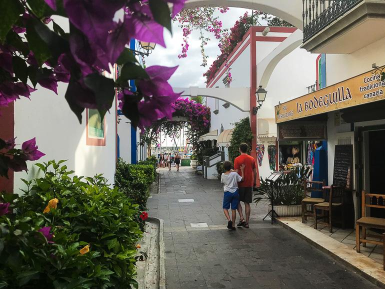 Travellers Insight Reiseblog Las Palmas Fußgängerzone Puerto de Mogan
