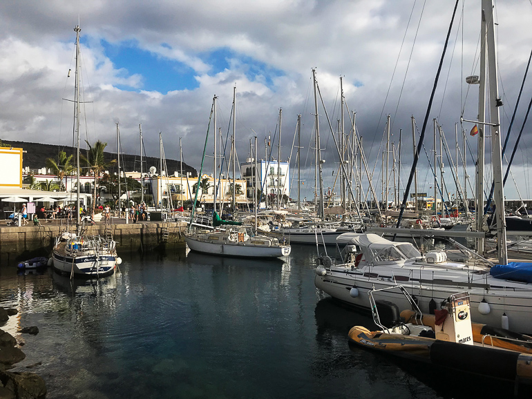Travellers Insight Reiseblog Las Palmas Hafen Puerto de Mogan