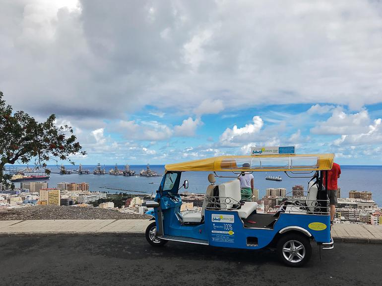 Travellers Insight Reiseblog Las Palmas elektrisches Tuk-Tuk