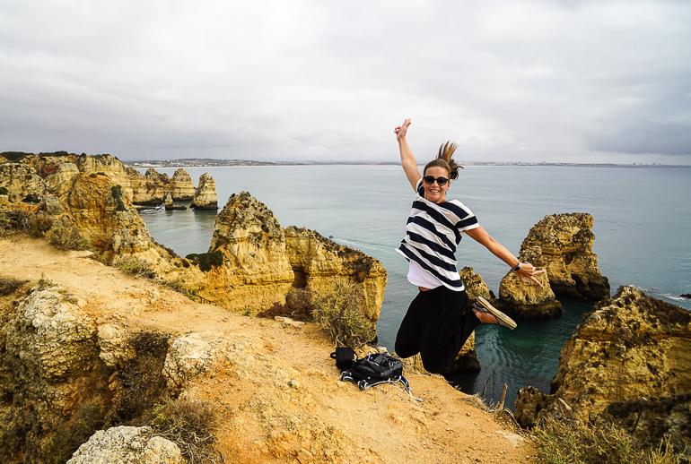 Travellers Insight Reiseblog Portugals Algarve Lagos Ponta Piedade