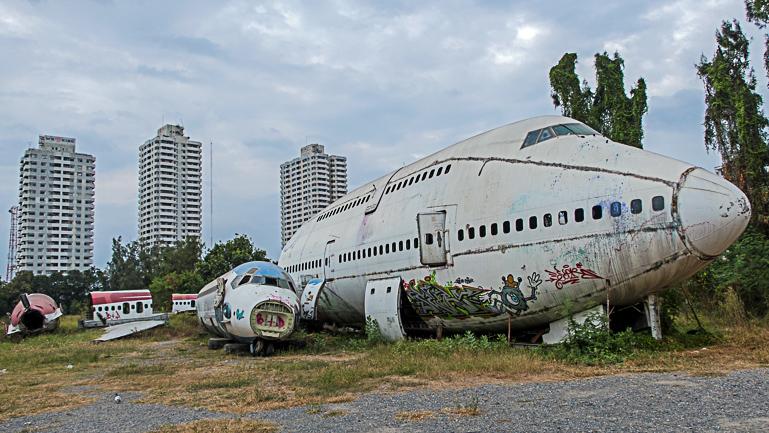 Travellers Insight Reiseblog Bangkok Geheimtipps Flugzeugfriedhof
