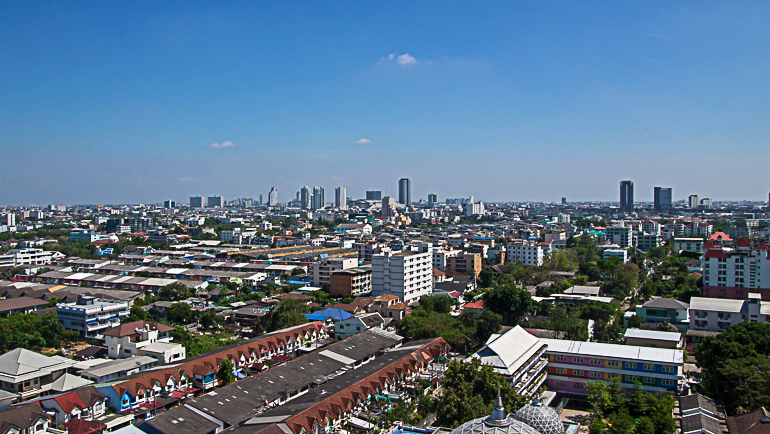 Travellers Insight Reiseblog Bangkok Geheimtipps Aussicht Wat Dhammamongkol