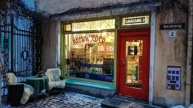 Travellers Insight Reiseblog Tallinns Sehenswürdigkeiten Café Kehrwieder