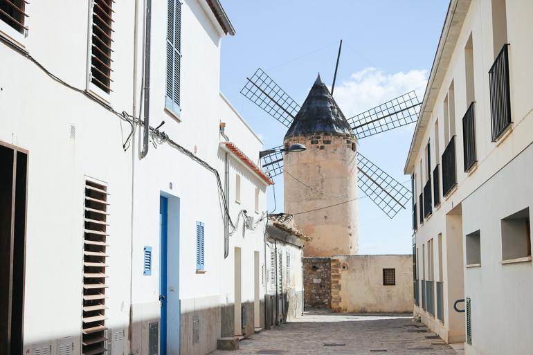 Travellers Insight Reiseblog Santa Catalina Palma Windmühle